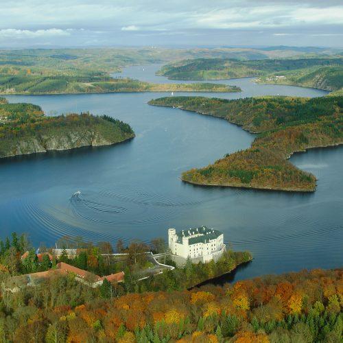 Vltavské přehrady