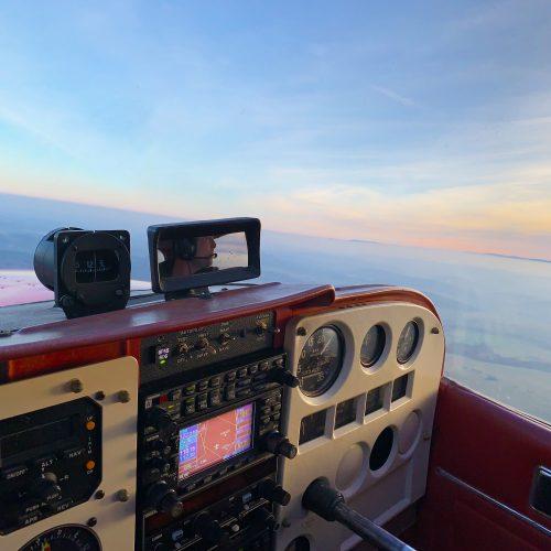 Pilotem na zkoušku 20 minut + dva spolucestující